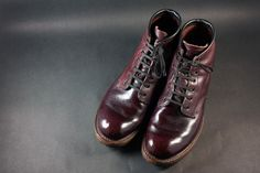 Red Wing Beckman Round-toe Polishing