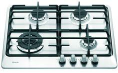 Płyta gazowa Nardi VG 43 AVX wykonana jest ze stali nierdzewnej. Posiada sterowanie mechaniczne, podwójne ruszty oraz zabezpieczenie przeciwwypływowe gazu.