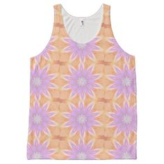 Good Morning All Over Print Tank Top