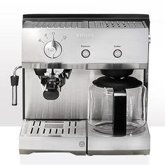 Espresseria Combi Premium XP2240 - Kombinerede espresso- og kaffemaskiner - Krups Denmark