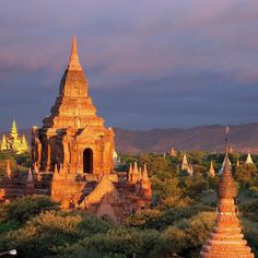The Bagan Temples in Burma are a truly magnificent sight to be seen. According to historians and archaeologists there were approximately over 10000 Buddhist temples monasteries and pagodas that once stood here. Now there are over 2200 that still remain. by tripadvisor