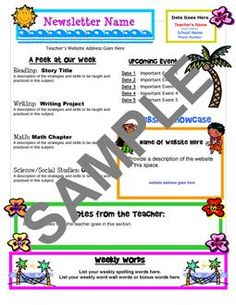 tropical theme for classroom' | Classroom Theme Resources from Teacher's Clubhouse