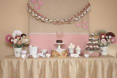 NIce Vintage table to display desserts