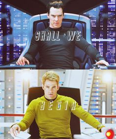 Star Trek into Darkness - Khan vs. Kirk