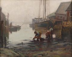 flickr pix of emile gruppe paintings | de Emile Albert Gruppé (1896-1978, United States)