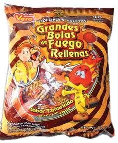 Yummy Mexican Candies, with flavor of tamarind and chili.