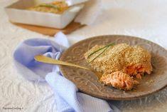 Filetto di salmone al sesamo - cotto in forno