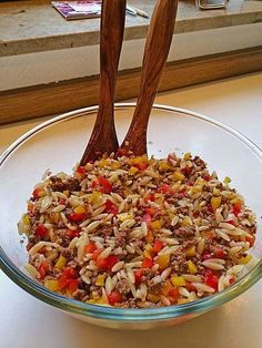 Kritharaki – Salad with minced meat, a great recipe from the Pasta & Noodle category. Ratings: Average: Ø Kritharaki – Salad with minced meat, a great recipe from the Pasta & Noodle category. Noodle Recipes, Meat Recipes, Pasta Recipes, Salad Recipes, Snack Recipes, Dinner Recipes, Healthy Recipes, Bratwurst Recipes, Brownie Recipes