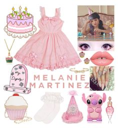 Designer Clothes, Shoes & Bags for Women Melanie Martinez Outfits, Melanie Martinez Style, Crybaby Melanie Martinez, Ddlg Outfits, Teen Fashion Outfits, Cute Outfits, Pastel Goth Outfits, Pastel Outfit, Kawaii Diy