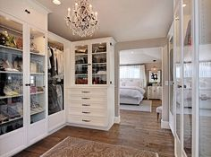 What a perfect closet looks like | 15 Beautiful walk in closet ideas
