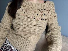 Tığ işi kazak 🎀 #örgü #tığişi Diy Arts And Crafts, Knit Or Crochet, Crochet Patterns, Pullover, Knitting, Youtube, Sweaters, Jackets, Dresses