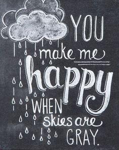 Primitives by Kathy Make Me Happy Chalk Sign