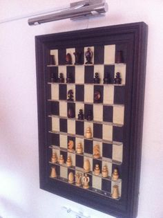 Wall Mounted Electronic Chess