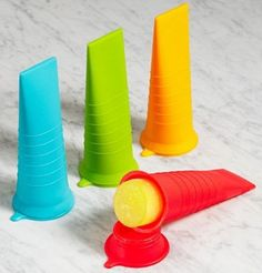"Kinderville Little Bites Ice Pop Molds  ""Thank-you cousin Fenton! What a great summer birthday gift!"""