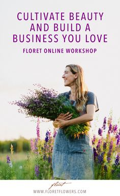 Since 2013, Floret has trained hundreds of aspiring flower farmers and floral designers how to grow specialty cut flowers and build a a thriving flower business on two acres or less.