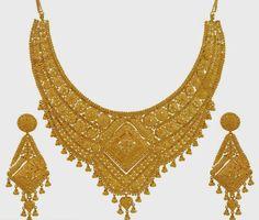 Golden Indian Wedding Necklace