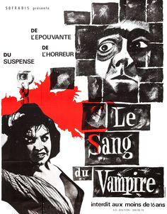 Future Hammer Films hero Jimmy Sangster wrote 1958's Blood of the Vampire.