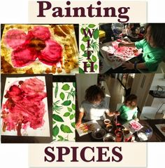 The Crafty Doolittle's : Painting with spices..