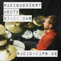 Heute Abend Radiokonzert live from #goeppingen