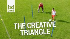 The Creative Triangle - Learn new football/ soccer tricks and moves Football Warm Up, Soccer Warm Ups, Football Girls, Kids Soccer, Football Soccer, Football Stuff, Soccer Dribbling Drills, Football Training Drills, Football Workouts