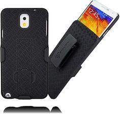 Stalion® Secure Holster & Belt Clip Combo for Samsung Galaxy Note 3 (Black)[Lifetime Warranty] Locking Belt Swivel + Kickstand + Shockproof Stalion http://smile.amazon.com/dp/B00KDPYMWE/ref=cm_sw_r_pi_dp_mZt2ub0W09FDQ