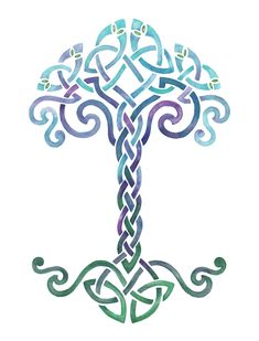 Embroidery Tree Of Life Celtic Ideas Celtic Quilt, Celtic Patterns, Celtic Designs, Celtic Symbols, Celtic Knots, Mayan Symbols, Egyptian Symbols, Ancient Symbols, Celtic Tattoos