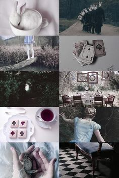 I close the book. That was Alice. The real Alice. All my life I've been like Alice in the Disney movie. Bright and fun and crazy. But the real Alice was different. The me who's seen too many things and lost them all. Alicia Wonderland, Alice In Wonderland Aesthetic, Dark Alice In Wonderland, Adventures In Wonderland, Disney Aesthetic, Witch Aesthetic, Aesthetic Collage, Belle Aesthetic, Aesthetic Dark