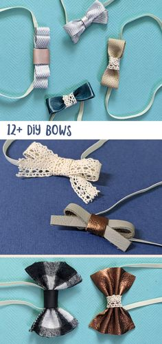 these DIY bows make such cool baby gifts! Tulle Hair Bows, Fabric Hair Bows, Baby Hair Bows, How To Make Hair, How To Make Bows, Traditional Bow, Diy Fashion Accessories, Crochet Bows, Best Baby Gifts