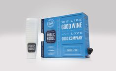 Public House Wine — The Dieline