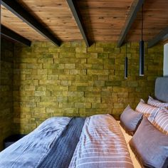 Cork Wall, Product Offering, Autocad, Board Ideas, Bricks, Bed, Inspiration, Furniture, Design