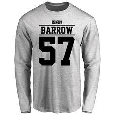 Lamin Barrow Player Issued Long Sleeve T-Shirt - Ash - $25.95