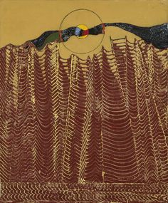 Max Ernst(All., 1891 - 1976), Forêt-Arètes, 1927, huile sur toile