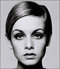 Twiggy - a 60's fashion icon.
