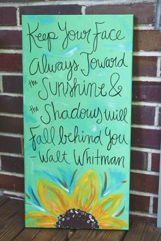 Canvas Quote by TheWellsProjectCU on Etsy, $25.00