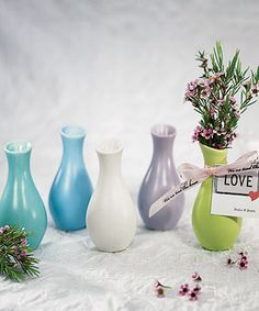 Mini Decorator Favor Vases