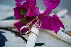 Portafedi nuziale beach wedding style