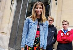 Phil Oh's Best Street Style Pics From the Paris Haute Couture Shows Style Me, Cool Style, Gucci Dress, Jeanne Damas, Summer Denim, White Books, Couture Week, Alberta Ferretti, Catwalk