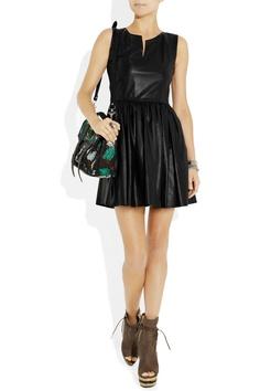 THAKOON  Leather mini dress  $3,450