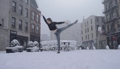 Snow Day: Ballerina Dancing in the Snow (video) Snow Gif, Ballerina Dancing, Snow Video, Dance, World, Youtube, Travel, Outdoor, Videos