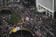 Protestos em São Paulo