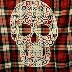 I just added this to my closet on Poshmark: Hot Topic red plaid flannel with skull size M. Price: $15 Size: M