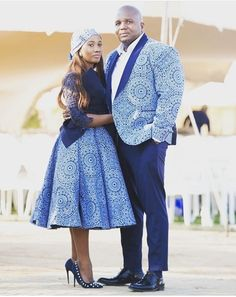 Sesotho Traditional Dresses, African Traditional Wedding Dress, Traditional Wedding Attire, Wedding Dresses South Africa, African Wedding Attire, African Attire, African Weddings, African Bridesmaid Dresses, African Wear Dresses