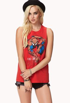 Amazing Spider-Man™ Muscle Tee | FOREVER21