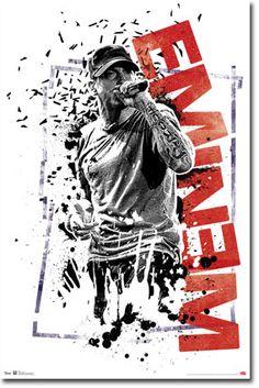 Eminem - Crumble Poster
