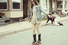 skate roller patinadora wtf diseño design miraquechulo