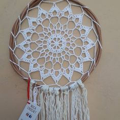 Diy Wall Decor, Diy Home Decor, Dream Catcher Craft, Crochet Baby, Crochet Projects, Macrame, Knitting Patterns, Diy And Crafts, Vintage