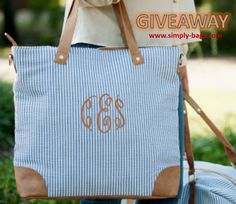 Enter to win the Beach Bag GIVEAWAY from Simply Bags! Enter: https://wn.nr/GC8dV5