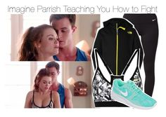 """Imagine Parrish Teaching You How to Fight"" by xdr-bieberx ❤ liked on Polyvore"