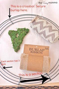 DIY :: Fall Burlap Wreath » The Sassy Momma