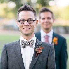 Brides.com: 18 Beautiful Wedding Photos Celebrating Same-Sex Marriage Photo by Milou + Olin Photography